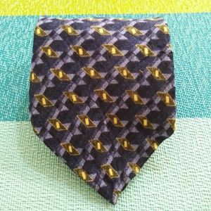 Mara blue mens tie All Silk